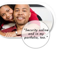 Security online and in my portfolio too